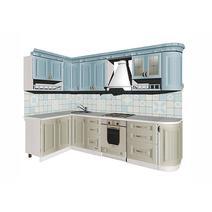 Кухня Кантри Багет с фризом радиусный в ПВХ пленке, фото 7