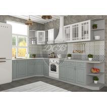 Кухня Гранд Шкаф верхний угловой стекло ПУС 550 / h-700 / h-900, фото 3