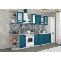 Кухня Гранд Шкаф верхний угловой стекло ПУС 550 / h-700 / h-900, фото 5