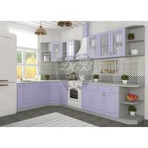Кухня Гранд Шкаф верхний угловой стекло ПУС 550 / h-700 / h-900, фото 6