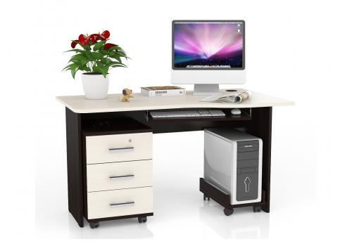 Стол письменный МД 1.04 с опциями, фото 1