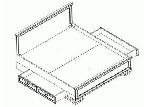 Кентаки Кровать LOZ 180x200 + выкатные тумбы, фото 3