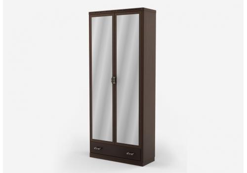 Кэри Голд Шкаф 2-х дверный с зеркалом /гл 390, фото 2