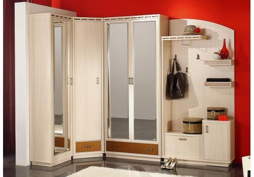 Кэри Голд Шкаф 2-х дверный с зеркалом /гл 390, фото 5