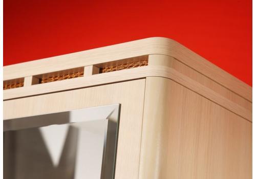 Кэри Голд Шкаф 1-дверный с зеркалом /гл 390, фото 3