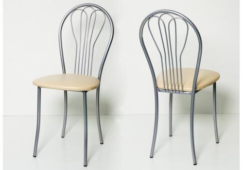 Стол обеденный раздвижной Лаванда+4 стула Ромашка, фото 6