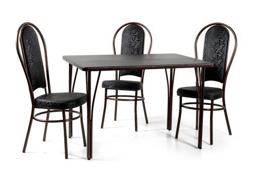 Стол обеденный Граф + 3 стула Граф, фото 1