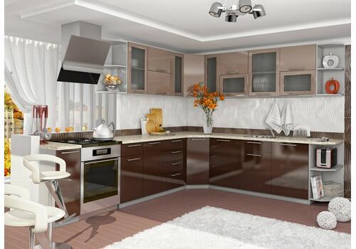 Кухня Олива Пенал с ящиками ПНЯ 400, фото 5