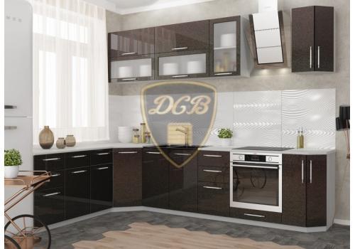 Кухня Олива Шкаф верхний торцевой угловой ПТ 400 / h-700 / h-900, фото 2