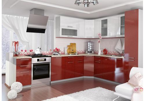 Кухня Олива Шкаф верхний угловой ПУ 600*600 / h-700 / h-900, фото 4