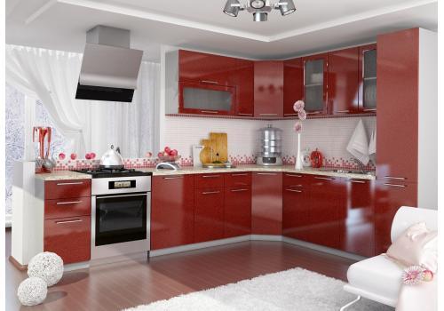 Кухня Олива Шкаф верхний торцевой угловой ПТ 400 / h-700 / h-900, фото 3