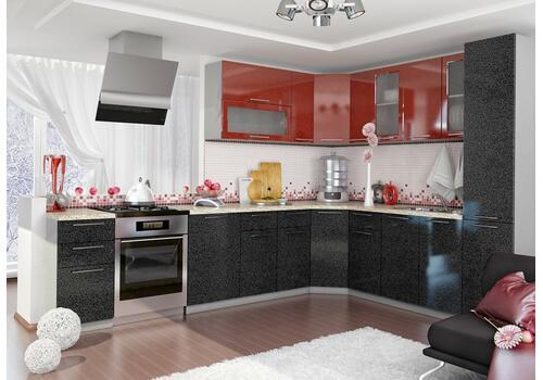 Кухня Олива Шкаф верхний угловой ПУС 550*550 / h-700 / h-900, фото 4
