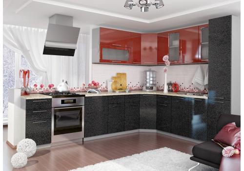 Кухня Олива Шкаф верхний торцевой угловой ПТ 400 / h-700 / h-900, фото 4
