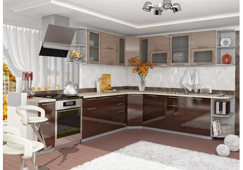 Кухня Олива Шкаф верхний П 450 / h-700 / h-900, фото 3