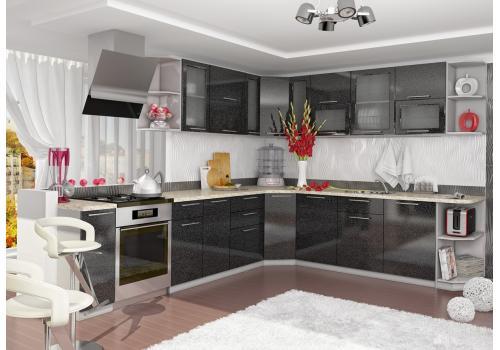 Кухня Олива Шкаф верхний П 450 / h-700 / h-900, фото 4