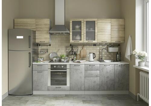 Кухня Лофт Шкаф нижний комод 2 ящика СК2 500, фото 9