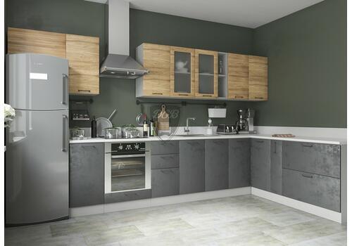 Кухня Лофт Шкаф нижний комод 2 ящика СК2 500, фото 11