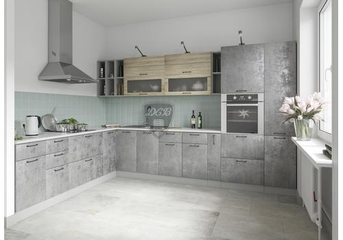 Кухня Лофт Шкаф нижний комод 2 ящика СК2 500, фото 5