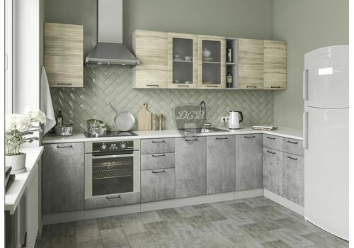 Кухня Лофт Шкаф нижний угловой СУ 850*850, фото 5
