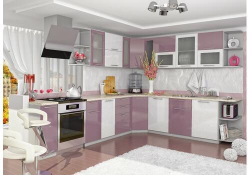 Кухня Олива Шкаф верхний угловой ПУС 550*550 / h-700 / h-900, фото 6