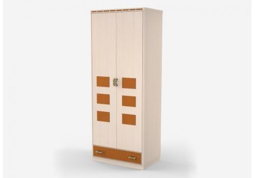 Кэри Голд Шкаф 2-дверный /гл 586, фото 1