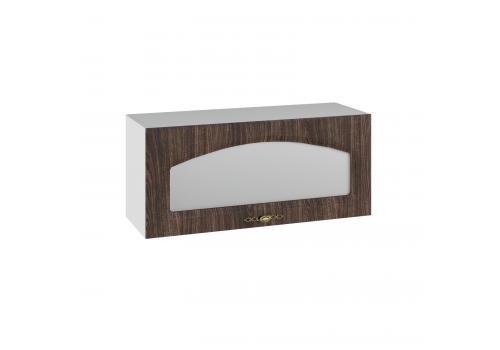 Кухня Монако ПГС 800 Шкаф верхний, стекло / h-350 / h-450, фото 2