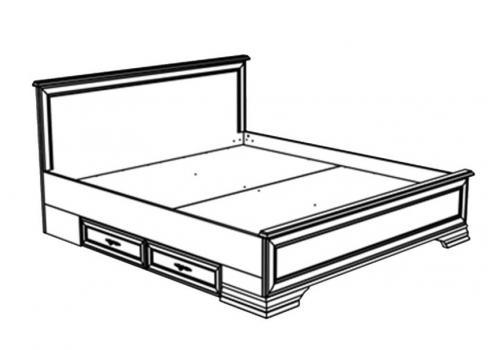 Кентаки Кровать LOZ 180x200 + выкатные тумбы, фото 4
