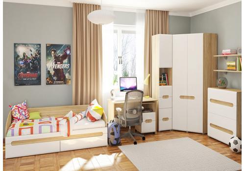 Леонардо Шкаф для одежды угловой МН-026-11, фото 3