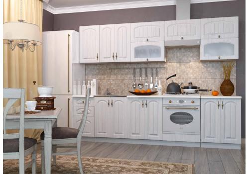 Кухня Монако ПГС 800 Шкаф верхний, стекло / h-350 / h-450, фото 5