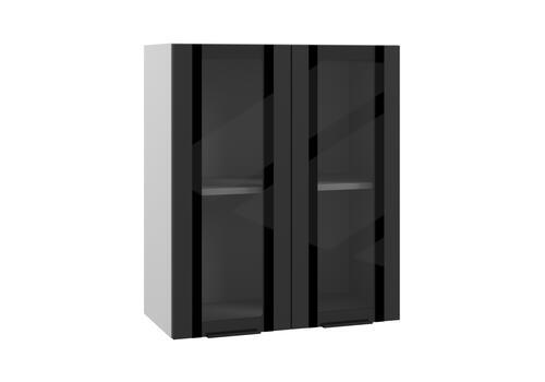 Шкаф верхний вклеенное стекло ПВС 600 / h-700 / h-900, фото 1