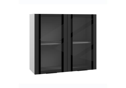 Шкаф верхний вклеенное стекло ПВС 800 / h-700 / h-900, фото 1
