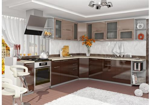 Кухня Олива Шкаф верхний глубокий ГПГ 500 / h-350 / h-450, фото 4