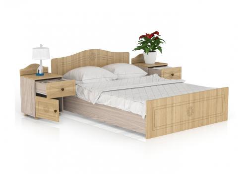 Онега Кровать 1400 с основанием, фото 2