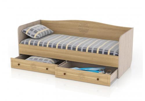Онега Кровать 800 с ящиками, фото 2