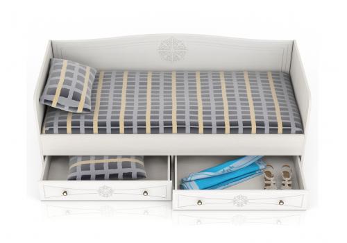 Онега Кровать 800 с ящиками, фото 3