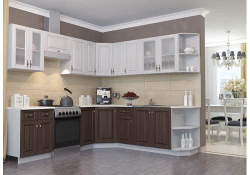 Кухня Империя Шкаф верхний торцевой угловой ПТ 400 / h-700 / h-900, фото 3