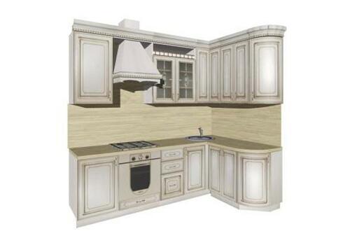 Кухня Анжелика угловая 2500*1520, фото 1