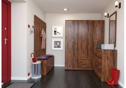Индиана Шкаф 3-х дверный JSZF 3D2S, фото 3