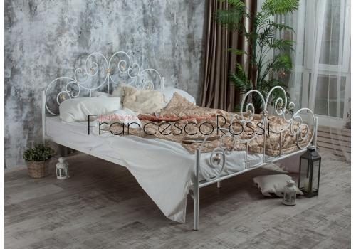 Кровать кованая Афина 1.6 / 2 спинки, фото 3