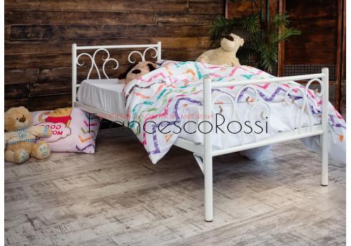 Кровать кованая Лацио kids 0.7х1.6, фото 2