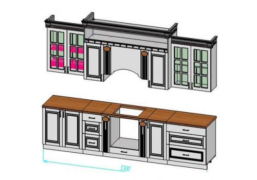 Кухня Верона 3300, фото 2
